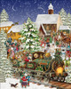 Christmas Train - 1000pc Jigsaw Puzzle By White Mountain