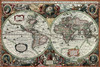 Historical Old World Map - 1000pc Jigsaw Puzzle by Tomax