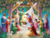 Magi at the Manger - 550pc Jigsaw Puzzle by Vermont Christmas Company