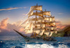 Sailing at Sunset - 1500pc Jigsaw Puzzle By Castorland