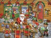 Santa's Workshop - 550pc Jigsaw Puzzle by Vermont Christmas Company