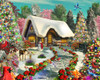 Snowy Delight - 1000pc Jigsaw Puzzle by Vermont Christmas Company