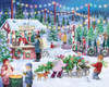 Christmas Tree Farm - 1000pc Jigsaw Puzzle by Vermont Christmas Company