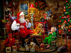 Santa's Visit - 550pc Jigsaw Puzzle by Vermont Christmas Company
