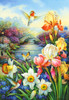 Golden Irises - 1500pc Jigsaw Puzzle By Castorland