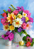 Flower Bouquet - 1500pc Jigsaw Puzzle By Castorland