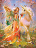 Fairy Princess and Unicorn - 1000pc Jigsaw Puzzle by Sunsout