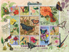Butterfly and Hummingbird Flight - 1000pc Jigsaw Puzzle by Sunsout