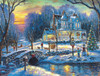 A White Christmas - 1000pc Jigsaw Puzzle by Sunsout