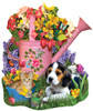 Spring Watering Can - 1000pc Jigsaw Puzzle by Sunsout