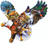 Forest Eagle - 1000pc Jigsaw Puzzle by Sunsout