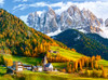 Church of St. Magdalena, Dolomites - 2000pc By Castorland