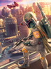 Star Wars: Boba Fett - 1000pc Jigsaw Puzzle By Buffalo Games