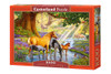 Horses By the Stream - 1000pc Jigsaw Puzzle By Castorland