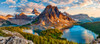 Assiniboine Sunset, Banff National Park, Canada - 600pc Jigsaw Puzzle By Castorland