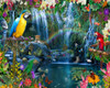 Tropical Paradise - 1000pc Jigsaw Puzzle by Vermont Christmas Company