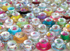 Tea Cups Collection - 1000pc Jigsaw Puzzle by Eurographics
