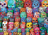 Traditional Mexican Skulls - 1000pc Jigsaw Puzzle by Eurographics