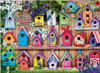Birdhouses: Home Tweet Home - 1000pc Jigsaw Puzzle by Eurographics