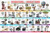 Inventors and their Inventions - 200pc Jigsaw Puzzle by Eurographics