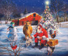 Santa at the Farm - 300pc Jigsaw Puzzle By Sunsout