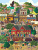 Western Town - 500+pc Jigsaw Puzzle By Sunsout