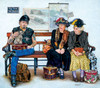 Who Sat Down First? - 300pc Jigsaw Puzzle By Sunsout