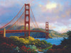 Morning at the Golden Gate - 300pc Jigsaw Puzzle By Sunsout