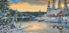 Cabin on the River - 1000pc Jigsaw Puzzle By Sunsout