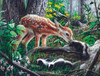 Friends of the Forest - 500pc Jigsaw Puzzle By Sunsout
