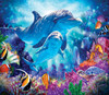 Dolphin Family - 200pc Jigsaw Puzzle By Sunsout