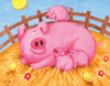 Pink Pigs - 63pc Jigsaw Puzzle By Sunsout (discon-26452)