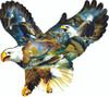 Eagle Majesty - 1000pc Shaped Jigsaw Puzzle By Sunsout