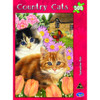 Country Cats: Springtime Pals - 500pc Jigsaw Puzzle by Holdson