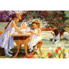 Flower Tots: Tea For Four - 500pc Jigsaw Puzzle by Holdson