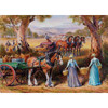 Redgum Ranges: Harvest Time Lunch - 1000pc Jigsaw Puzzle by Holdson