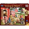 Young at Heart: Farmhouse Chores - 500pc XL Jigsaw Puzzle by Holdson
