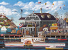 Charles Wysocki: Fairhaven by the Sea - 1000pc Jigsaw Puzzle by Buffalo Games