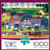 Charles Wysocki: Prairie Wind Flowers - 1000pc Jigsaw Puzzle by Buffalo Games