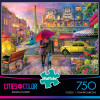 Cities In Color: Raining in Paris - 750pc Jigsaw Puzzle by Buffalo Games