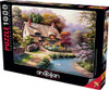 Duck Path Cottage - 1000pc Jigsaw Puzzle by Anatolian