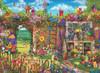 Garden Gate - 1000pc Jigsaw Puzzle by Anatolian