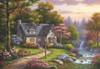Stonybrook Falls Cottage - 2000pc Jigsaw Puzzle by Anatolian