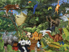 Noah's Gathering - 350pc Jigsaw Puzzle by Cobble Hill