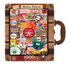 Retro Petrol - 1000pc Suitcase Jigsaw Puzzle by Masterpieces