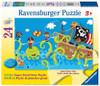 Ocean Friends - 24pc Super Sized Floor Puzzle by Ravensburger