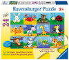 Animal Adventures - 24pc Floor Puzzle by Ravensburger