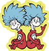 Thing 1 & 2 - 24pc Shaped Floor Puzzle by Ravensburger