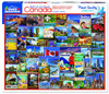 Best Places in Canada - 1000pc Jigsaw Puzzle By White Mountain