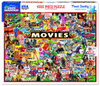 Movies - 1000pc Jigsaw Puzzle By White Mountain